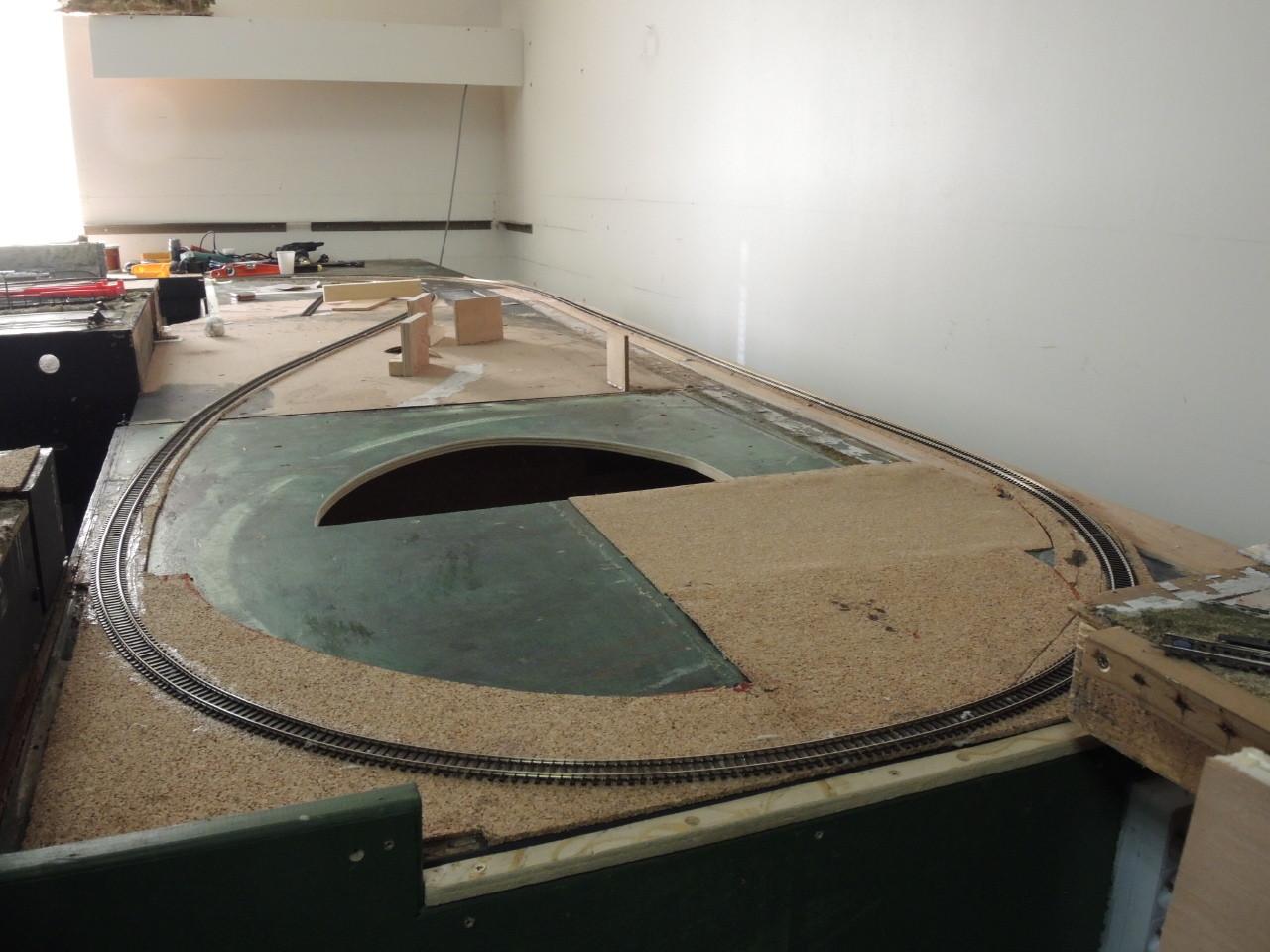 La boucle souterraine en voie analogique
