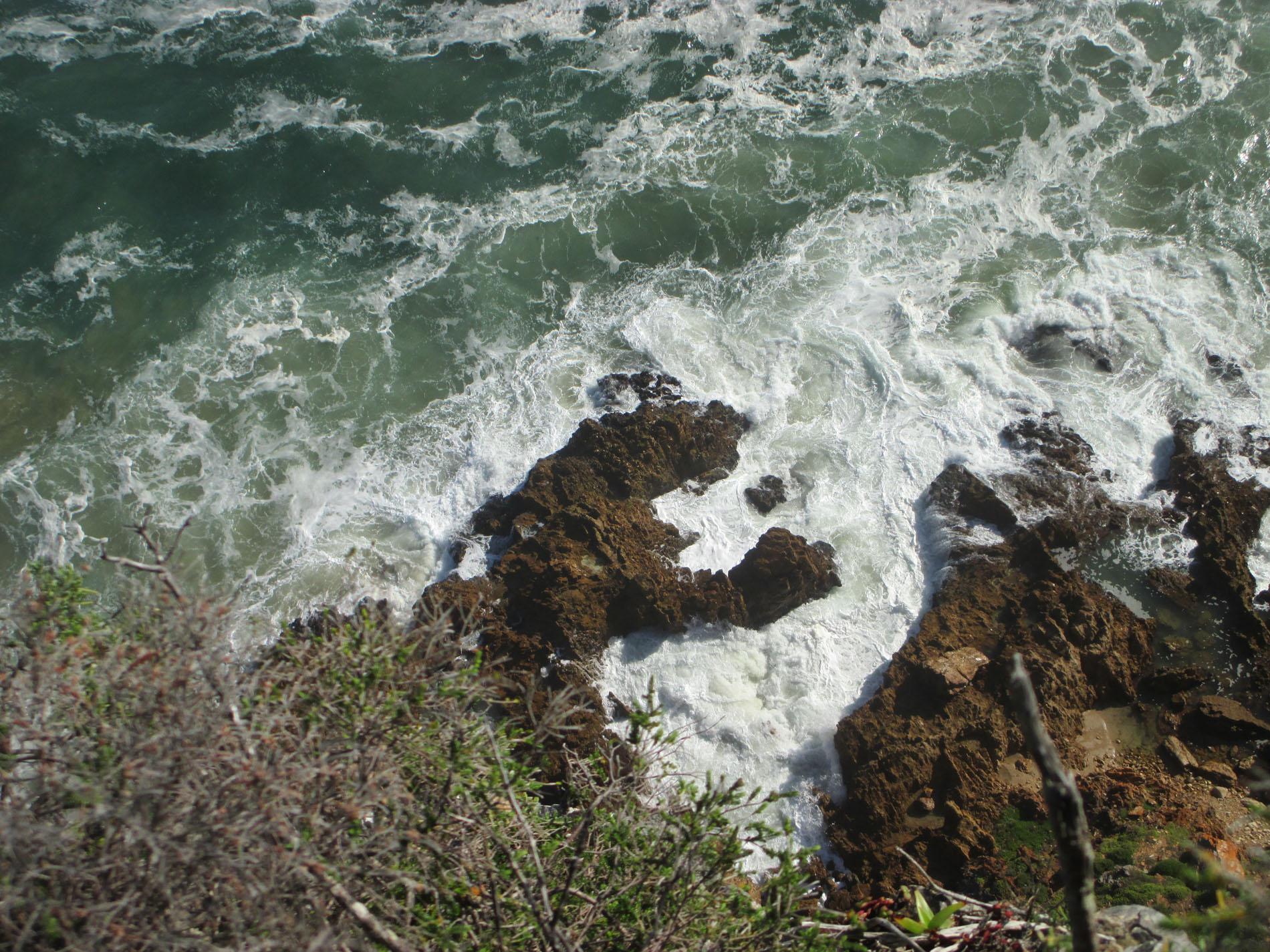 Brandung am Indischen Ozean