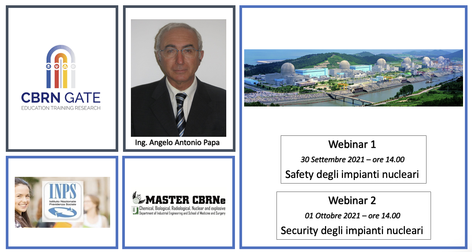 Webinar: Safety and Security Impianti Nucleari