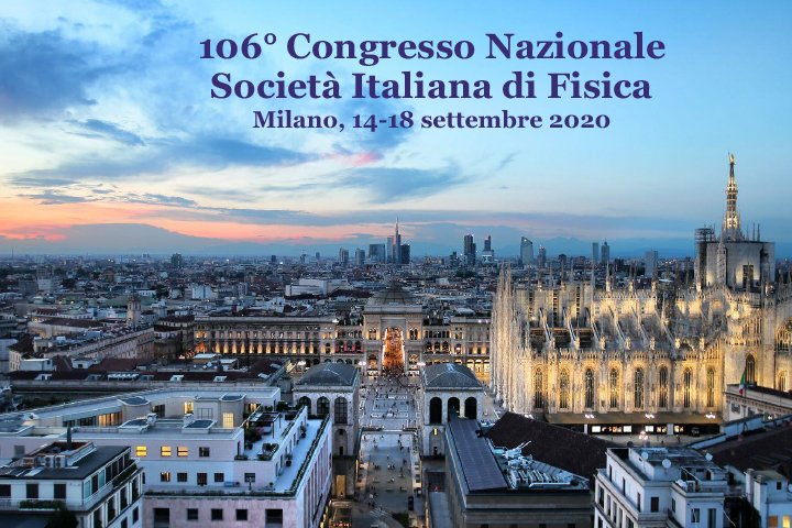 Best Presentation award for the 106 National Congress of  Physics - SIF 2020