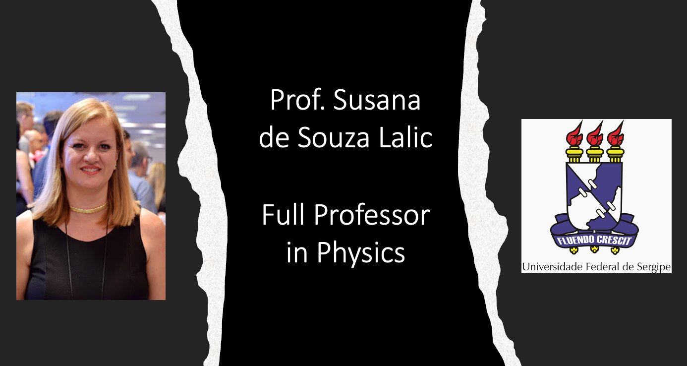 Greetings to Prof. Susana de Souza Lalic