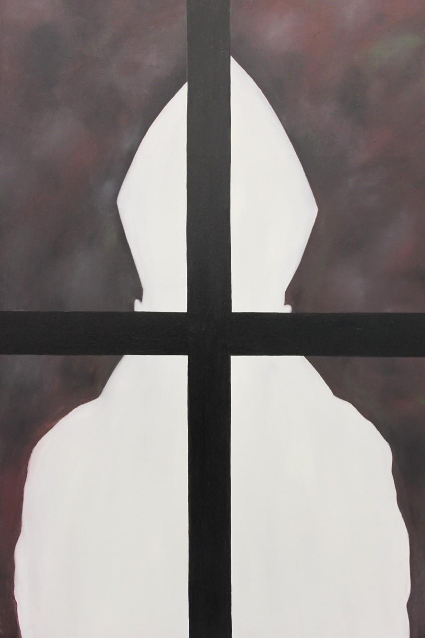 elevator 2/ oil on canvas, 120x100cm