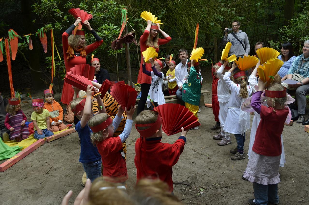 Tanzaufführung beim Sommerfest