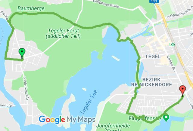 Wanderweg 7 - Berlin Reinickendorf