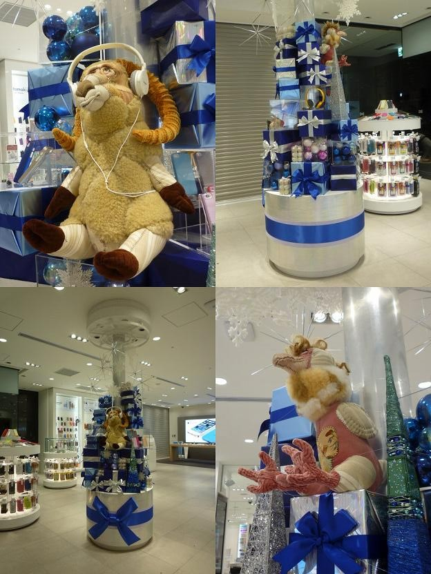 ソフトバンク グランフロント大阪 クリスマスディスプレイ
