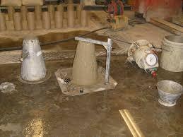Slump Test - Définition de l'affaissement du Béton, une nécessité pour l'application du béton extrudé