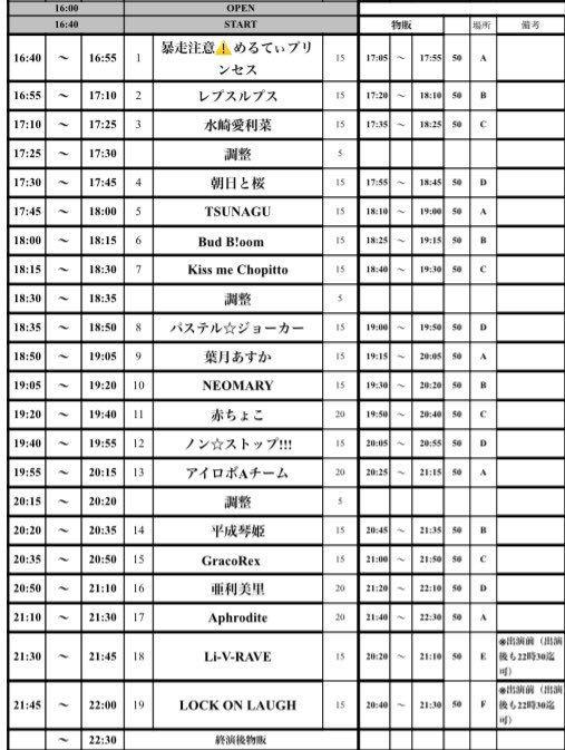 2018年6月27日(水)渋谷DESEO