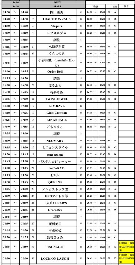 5月16日(水)渋谷DESEO