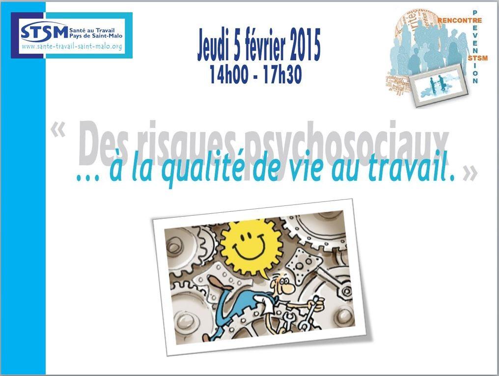 Rencontre Prévention du 5 février 2015