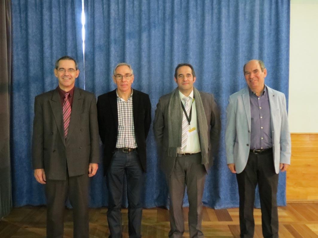 Bruno Tracou, Pierre Bouzard, Didier De Abreu, Jean-Marie Rousselet