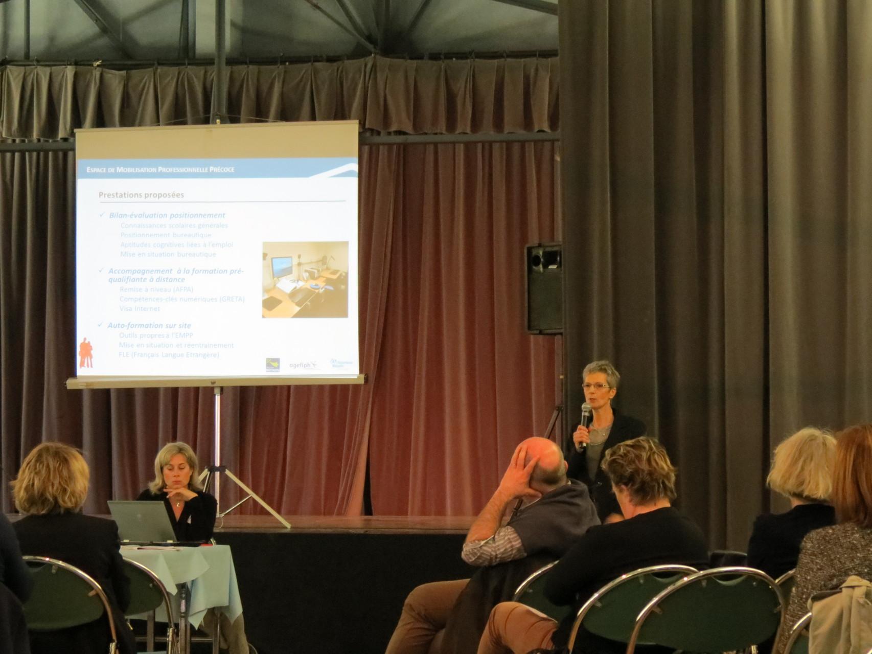 L'accompagnement de l'EMPP, présenté par Geneviève Jamppy