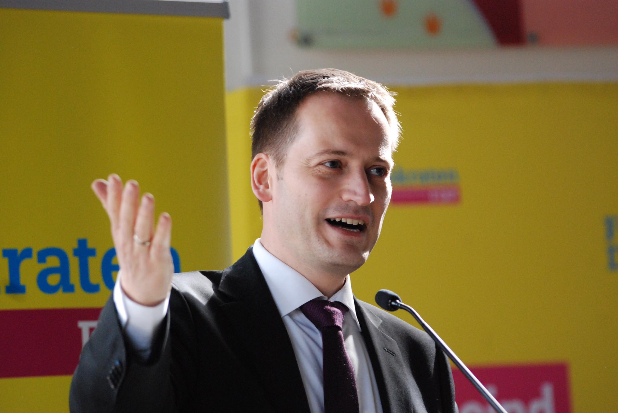 Manuel Höferlin, Spitzenkandidat der FDP Rheinland-Pfalz zur Bundestagswahl 2017