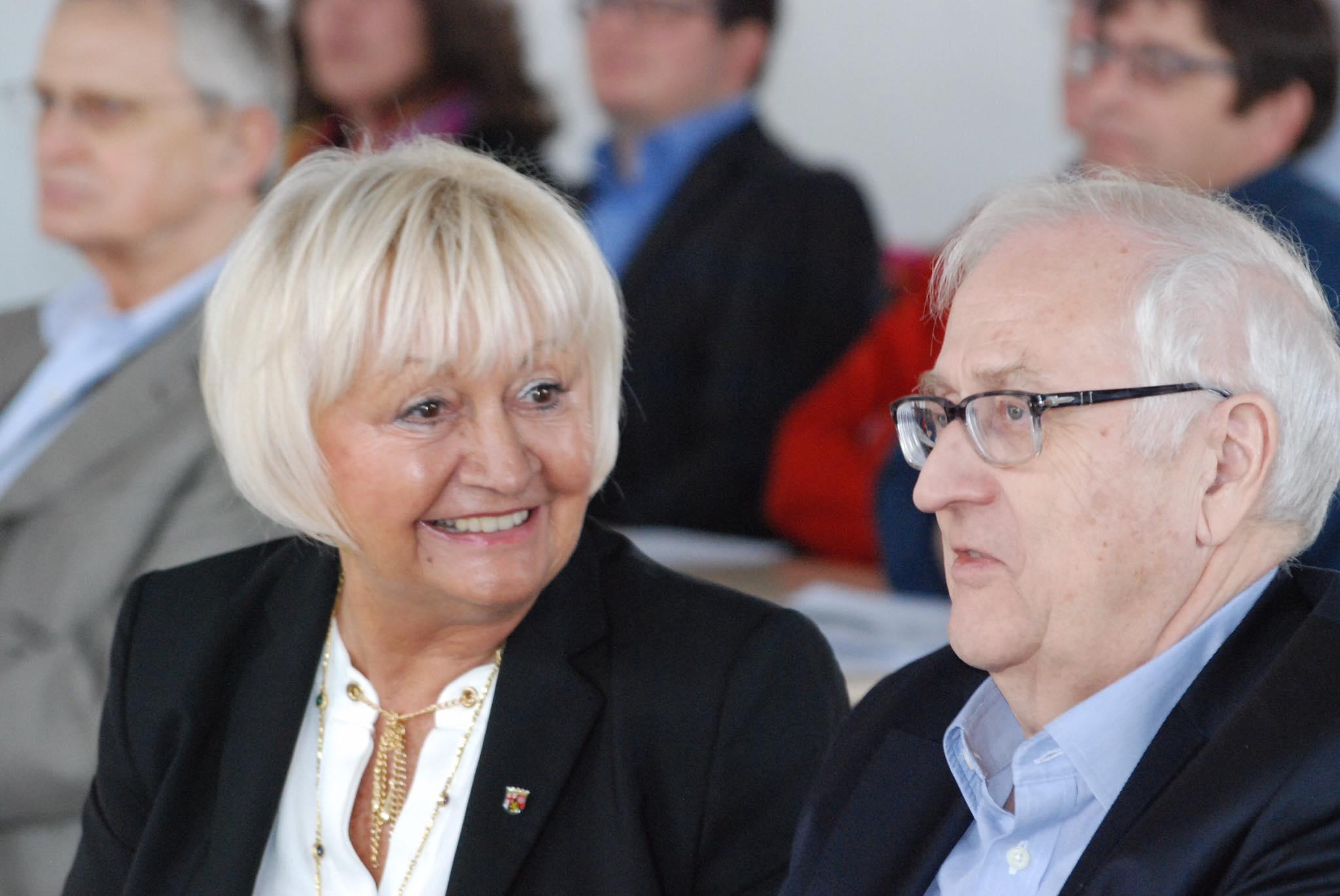 Cornelia Willius-Senzer, Landtagsabgeordnete - Rainer Brüderle, Ehrenvorsitzender FDP RLP