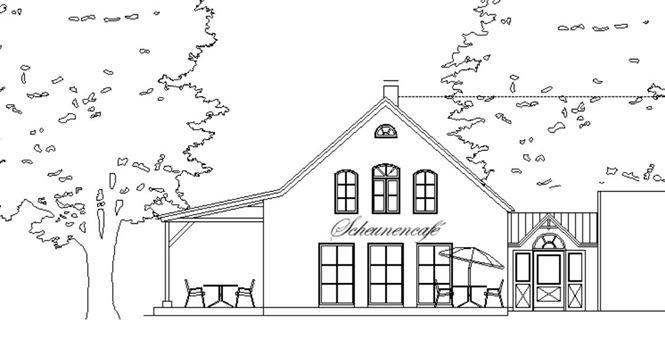 Umbau einer Scheune zu einem Hofcafé
