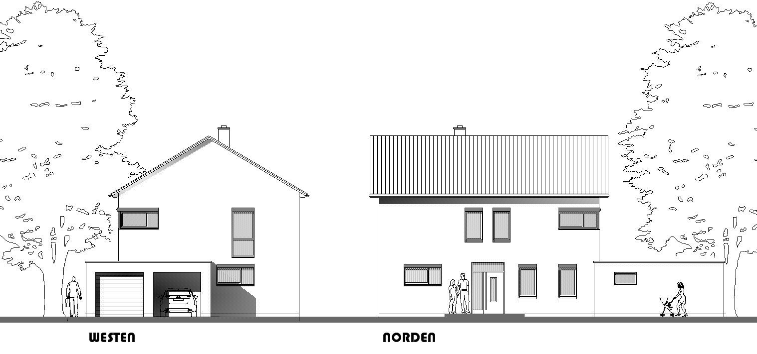 Neubau eines Einfamilienhauses in Posthausen