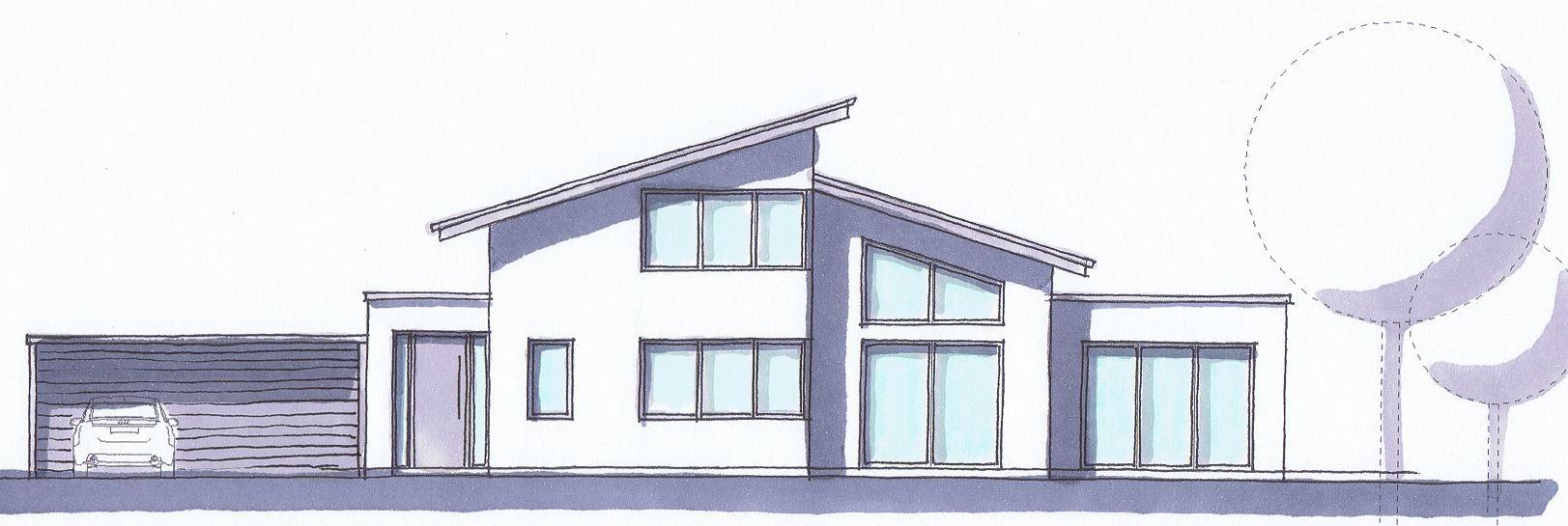 Vorentwurf für ein Wohnhaus