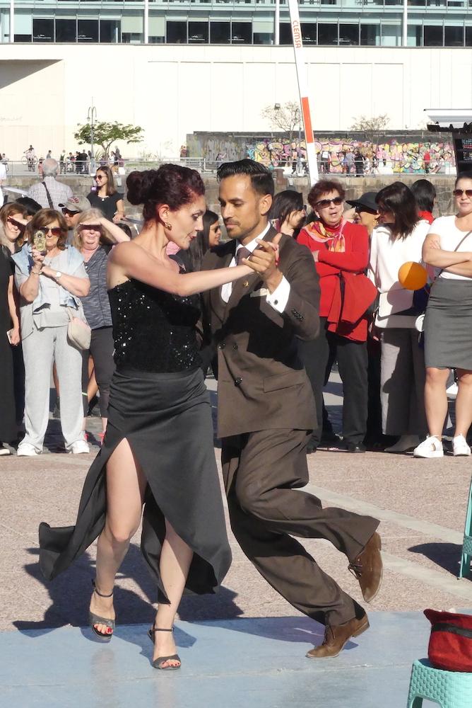 le tango de rue