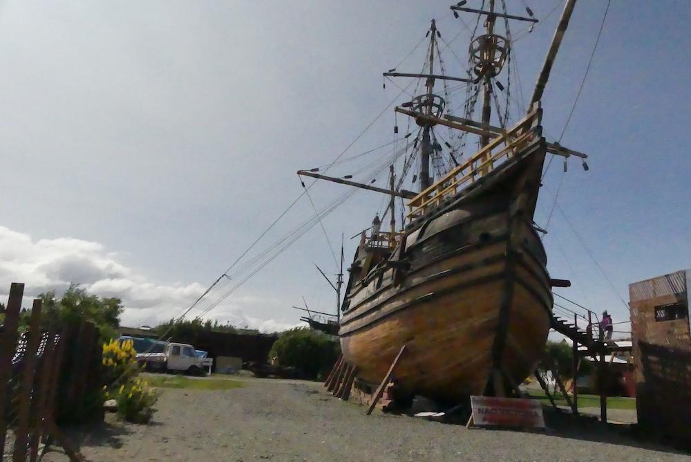 Reconstitution bateau de Magellan
