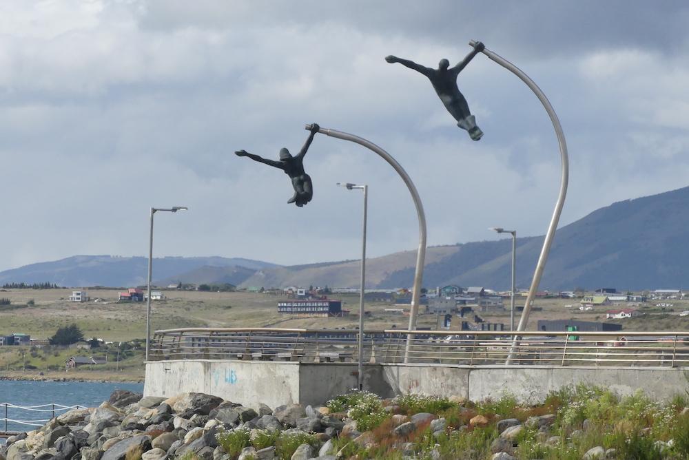 Sculpture à la gloire du vent
