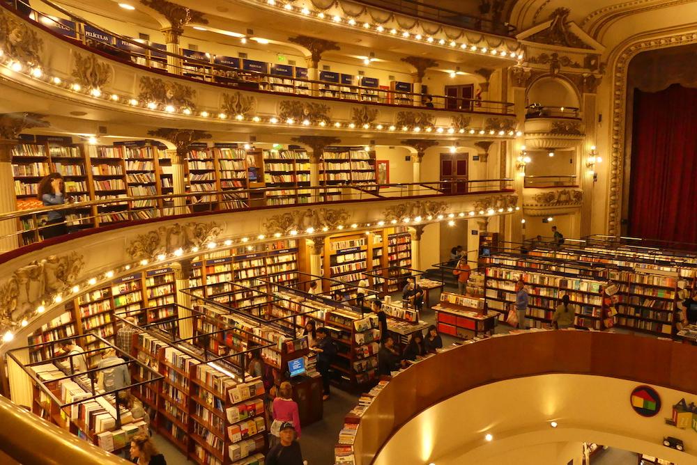 une superbe librairie