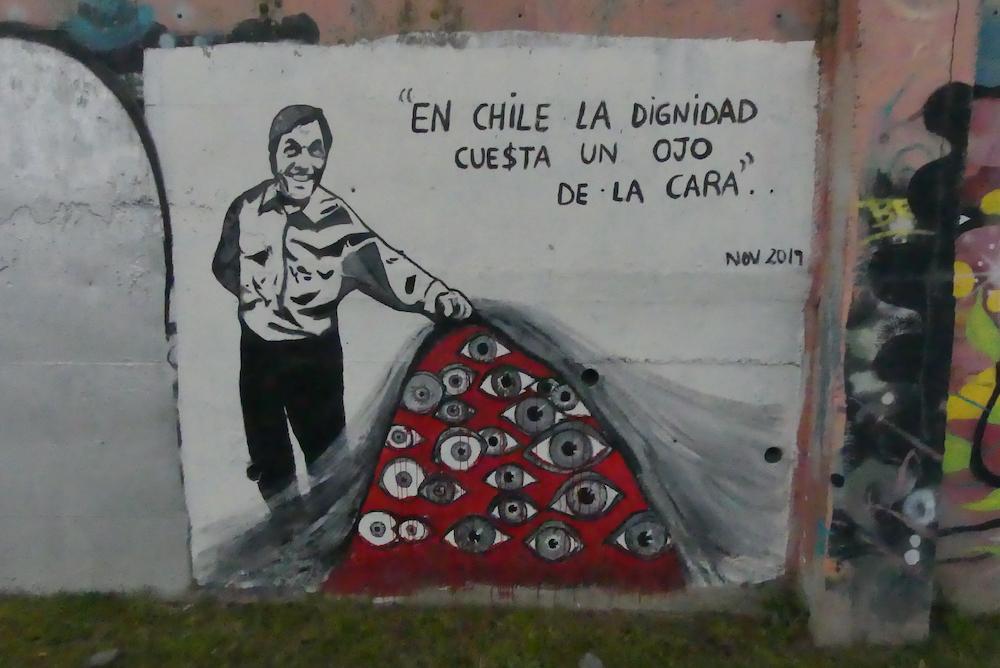 Au Chili la dignité vaut œil