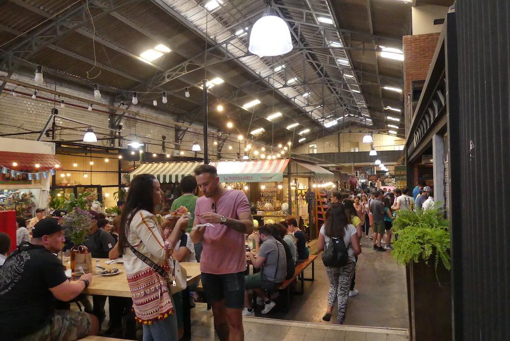 Le marché couvert de san Telmo