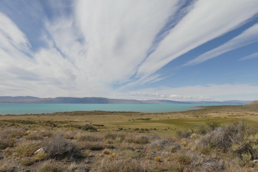 Vue sur le lac Argentino