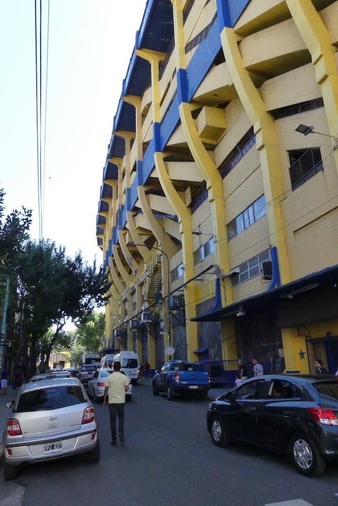 Le Stade de la Boca junior