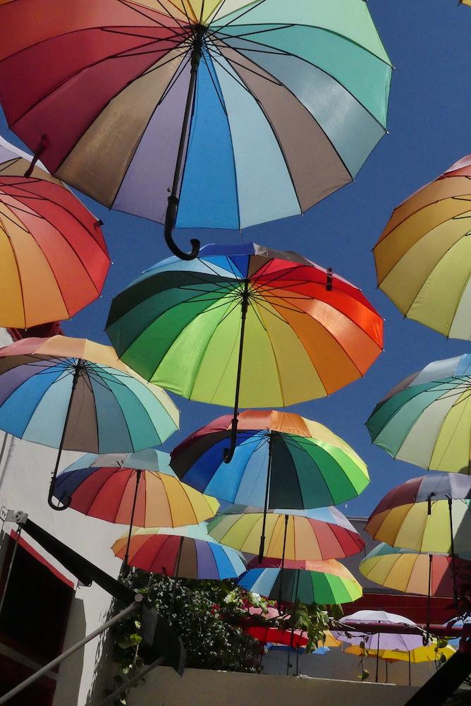 Les parapluie de San Telmo