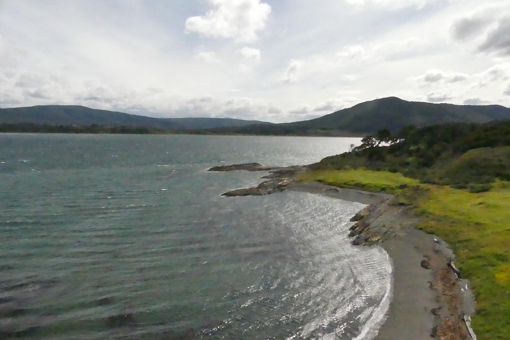 La cote extrème sud du Chili