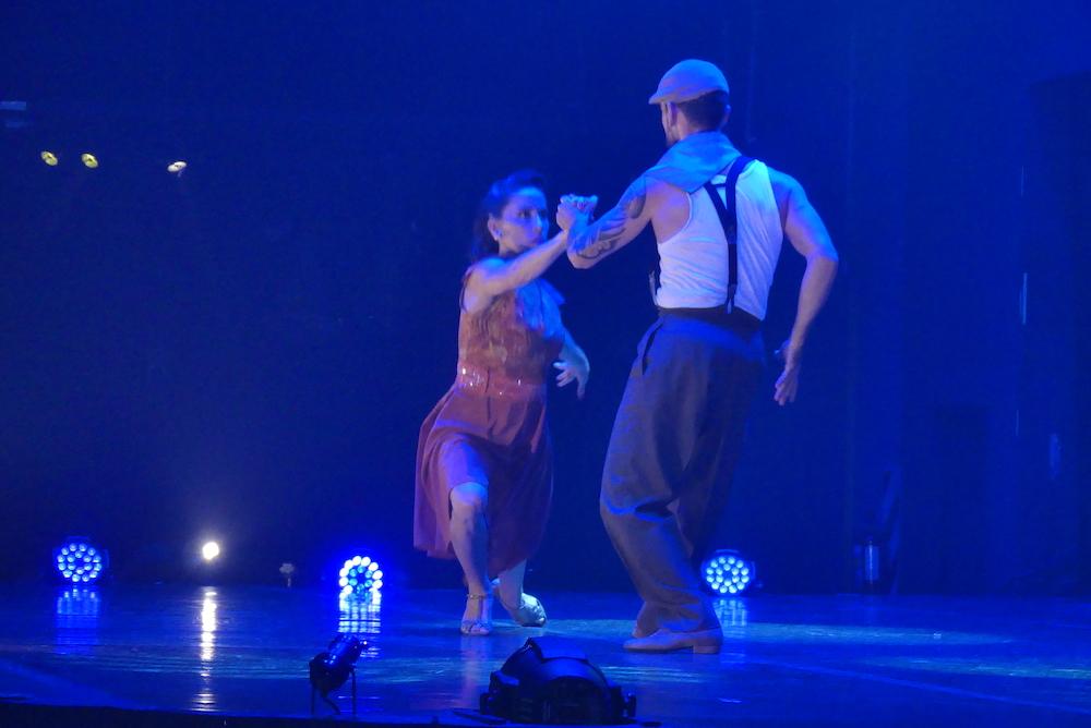 Spectacle de tango
