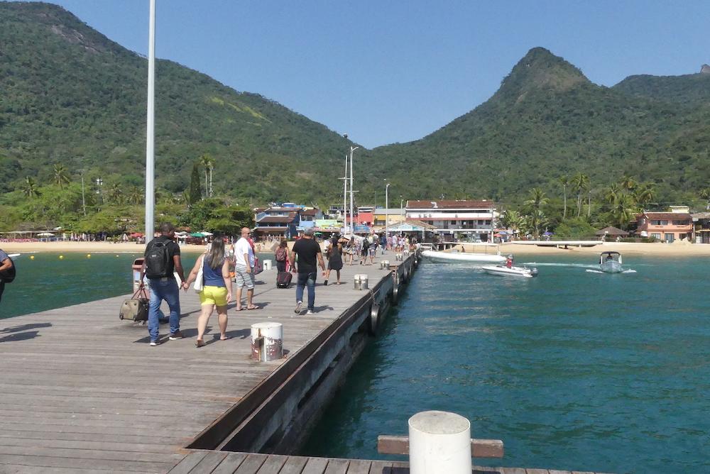 Arrivée à Ilha Grande