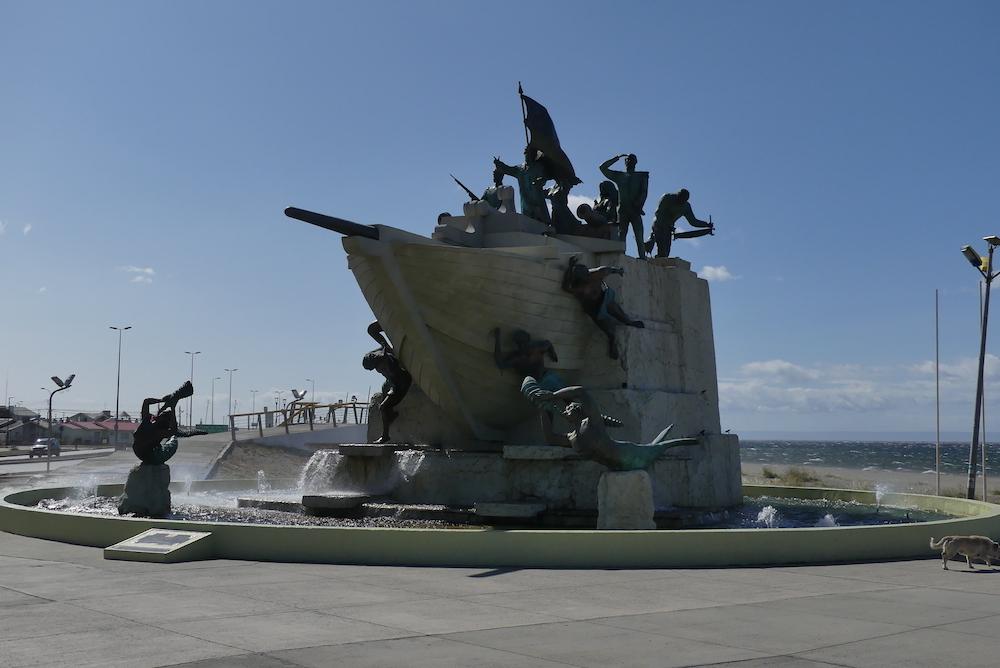 Monument de punta Arenas