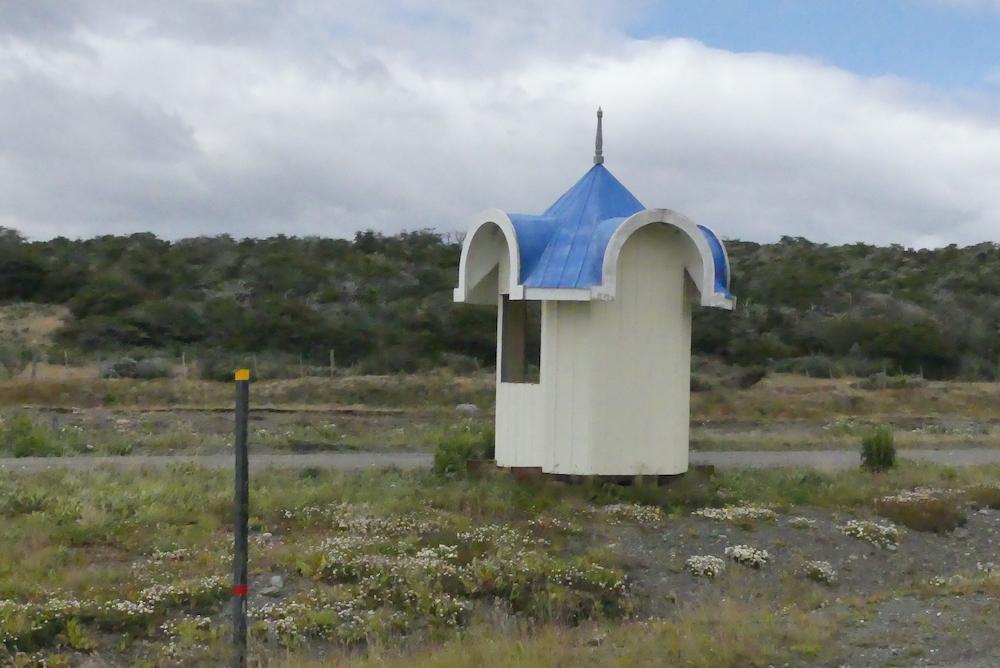 Abri bus de la Patagonie