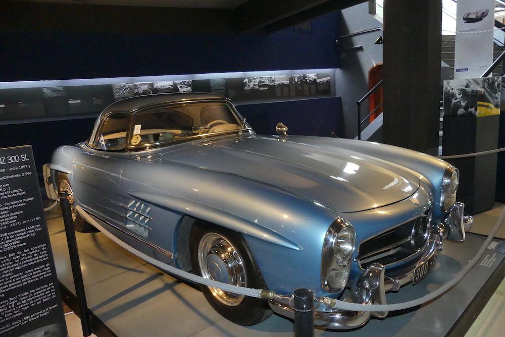 Mercedes 300SL du Museé Fangio