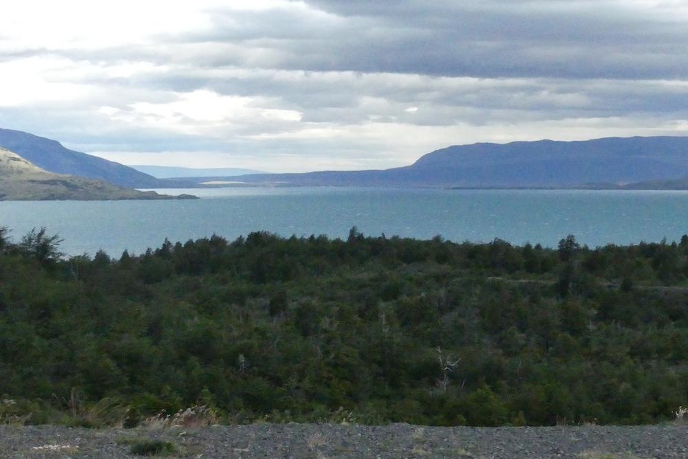 Lago del toro vu de notre bivouac