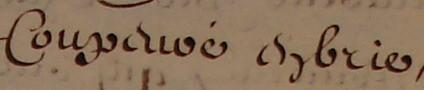 « Coupevré en brie » en 1700