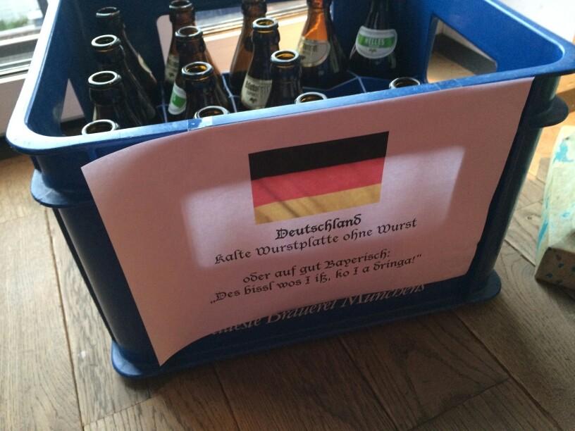 Buffet-Beitrag aus Deutschland...