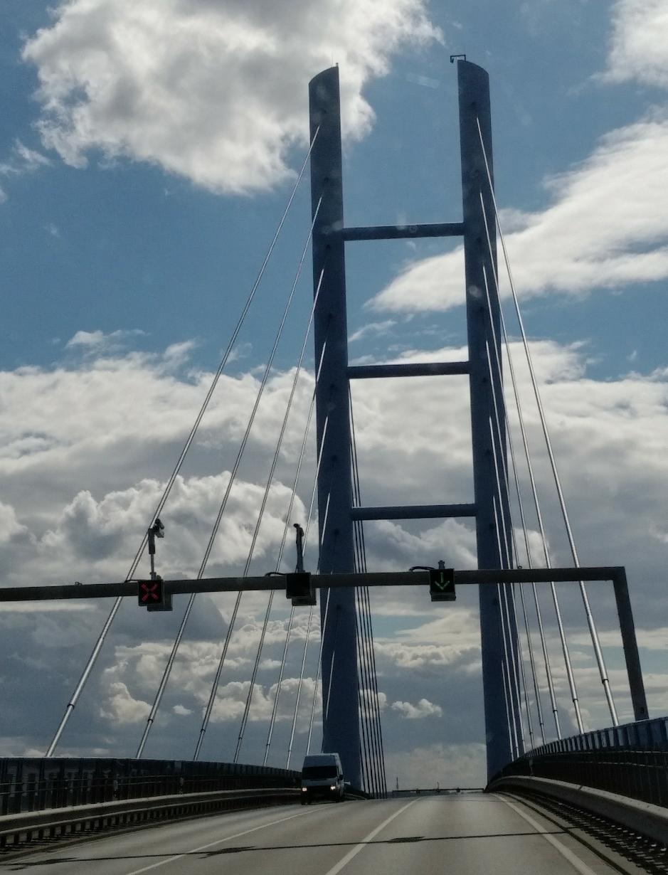 Brücke von Rügen nach Stralsund