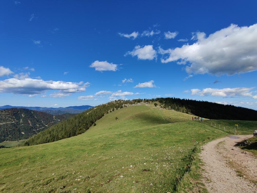 Könnte eigentlich auch ein Foto der schottischen Highlands sein, dieses Panorama unweit des Schneebergs 😄