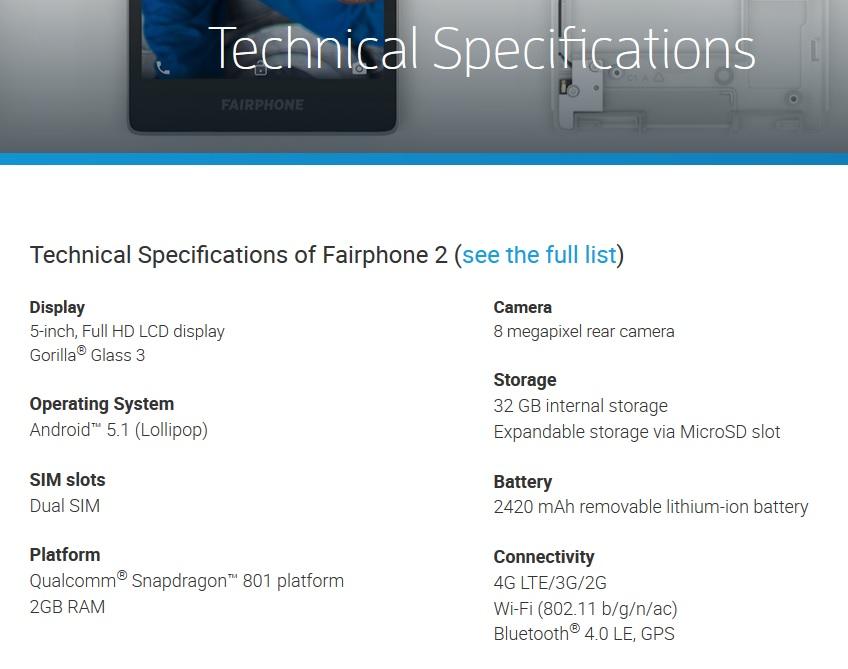 (c) Fairphone