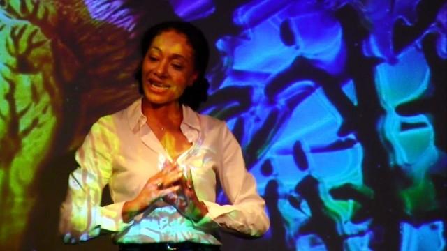 """Maroula Blades: """"Spilling Words"""" @ Werkstatt der Kulturen 18.8.2013"""