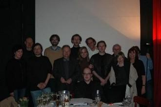 Gründungsmitglieder bei der Vollversammlung zur Gründung der KULTURPARTEI 2006