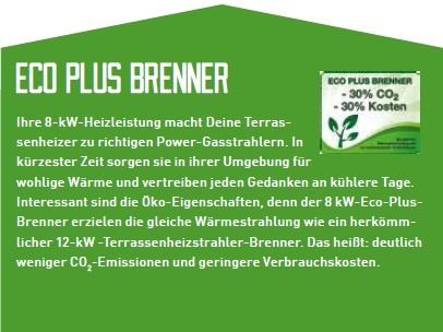 Eco Plus Brenner
