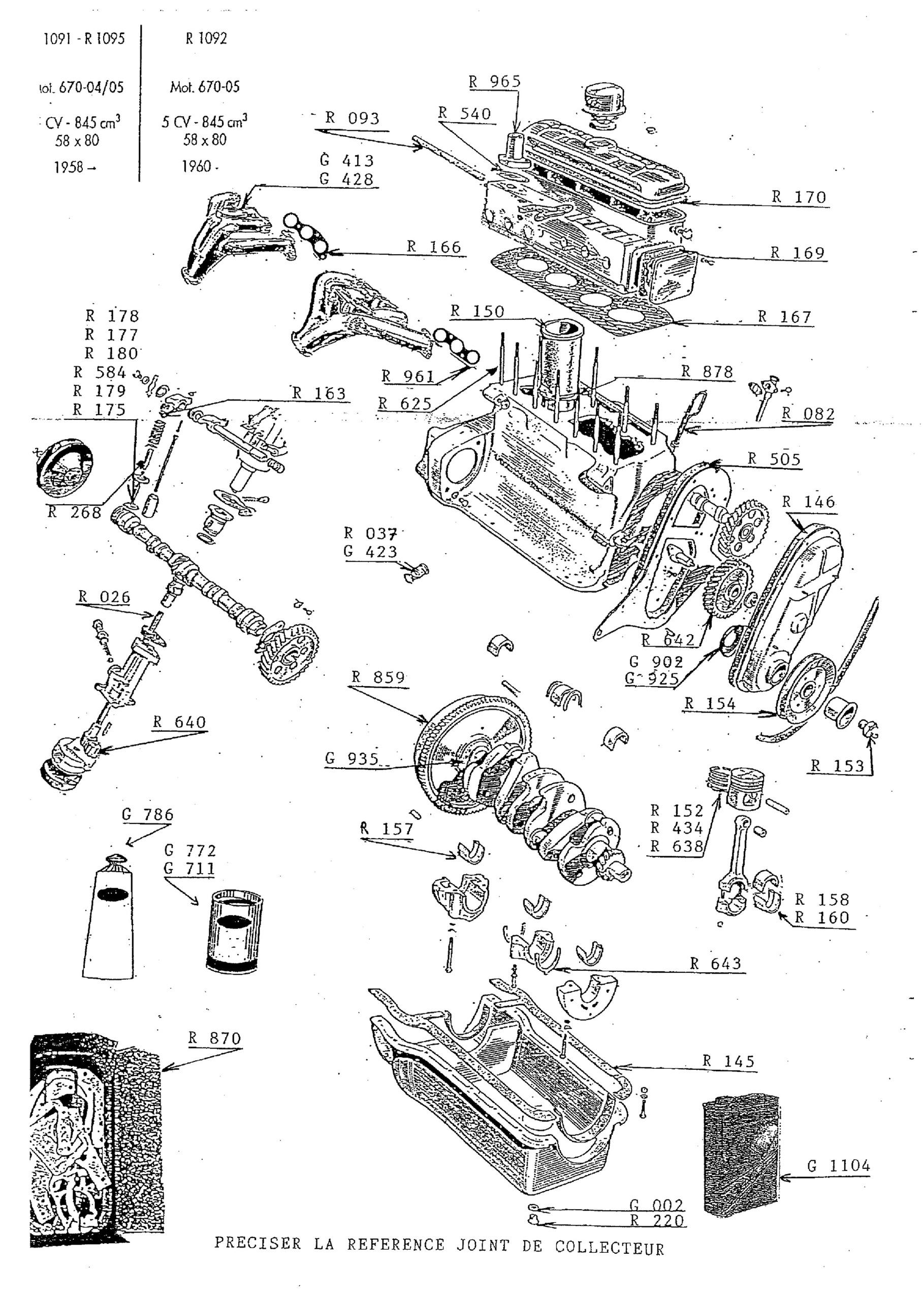 moteur 670 - 04 55
