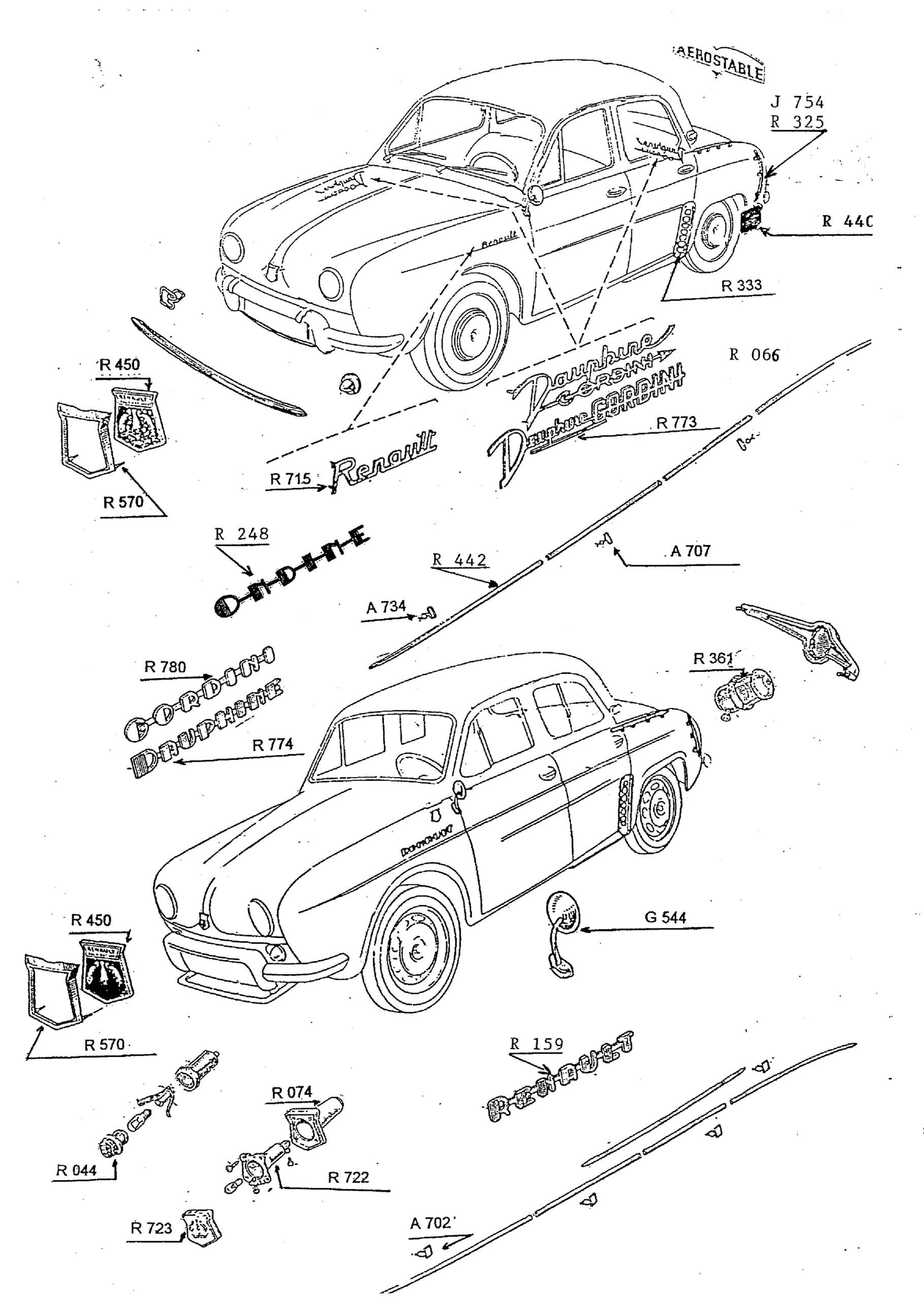 accessoires de carrosserie  1  2