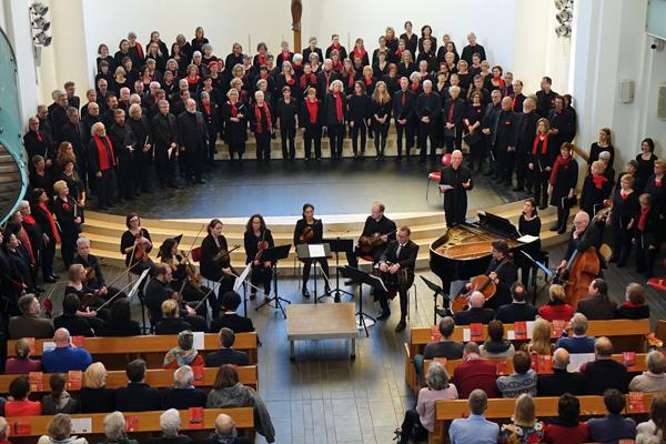 Bild: Projektchor und Orchester MisaTango2019