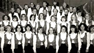 Bild: Junger Chor des DMGV 1968