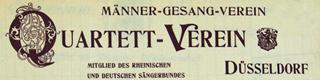 Bild: Briefkopf M-G-V Quartett-Verein