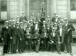 "Bild: MGV ""Cäcilia"" Benrath (Foto um 1910)"